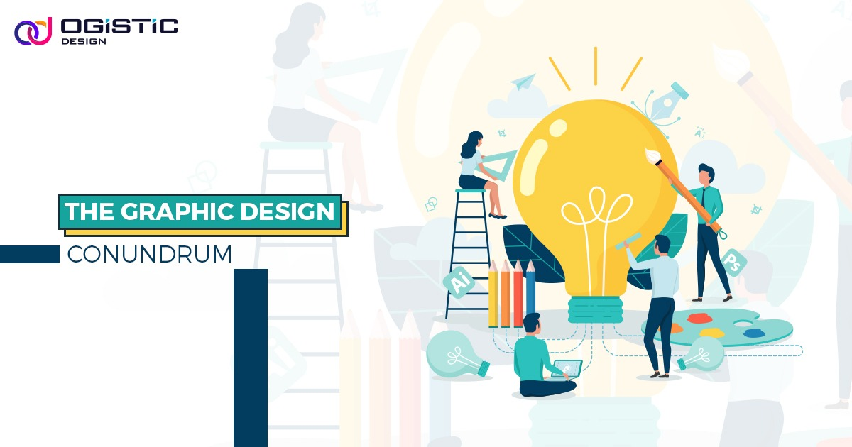 Ogistic design graphic